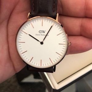 NWT DANIEL WELLINGTON Classic St. Mawes watch